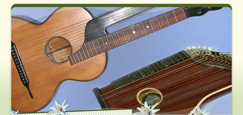 Liab' und Schneid's German Music (Volksmusik) Instruments